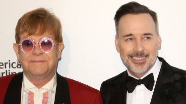 Sir Elton John and husband David Furnish are joining the cavalcade of Sydney house hunters.