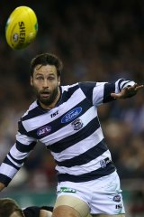 Flashback: Jimmy Bartel during his playing days.