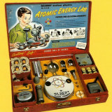 "Gilbert's ""Atomic Energy Lab"" toy from the 1950s contained actual uranium."