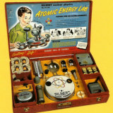 """Gilbert's """"Atomic Energy Lab"""" toy from the 1950s contained actual uranium."""