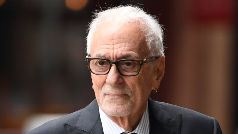 Fred Specktor submitted an expert report on Geoffrey Rush's anticipated longevity in the industry before the articles were published.