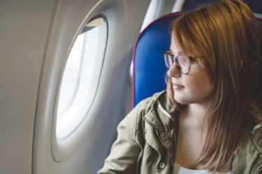 window seat on a plane