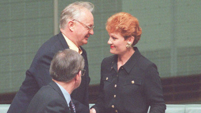 From the Archives, 1996: The lesson in Pauline's perils