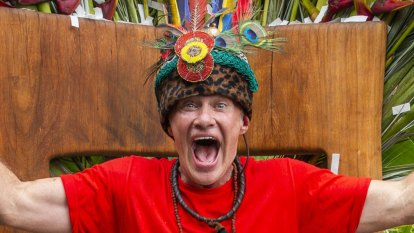 I'm a Celebrity: King of the Jungle Richard Reid begged to be cast