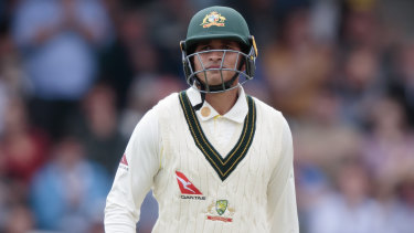 Usman Khawaja was dropped from the Australian team for the fourth Test.