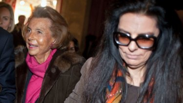 Lilianne Bettencourt (left) oversaw the transformation of L'Oreal into the world's biggest beauty company. When she died, her daughter Françoise Bettencourt Meyers (right) became the world's richest woman, with an estimated fortune of around $US50 billion.