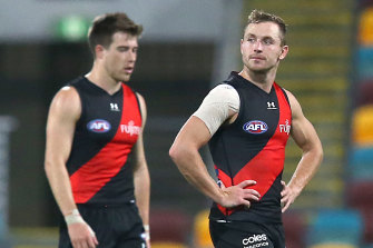 Essendon were blown off the park by a rampant Geelong.