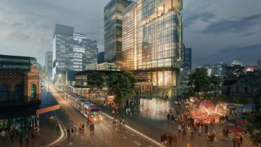 Walker Corporation's proposed commercial towers at 6 and 8 Parramatta Square.