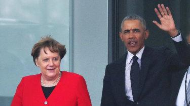 Merkel and Obama on Friday.