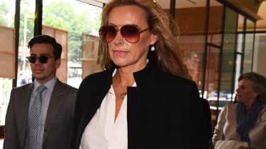 "Janelle ""Nellie"" Tilley arriving at court on Thursday."