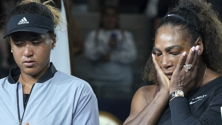 Williams' outburst overshadowed her opponent's maiden grand slam victory.