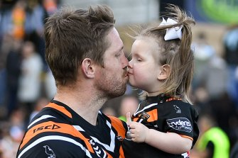 Chris Lawrence was heartbroken when he returned home from New Zealand and his daughter Emme didn't recognise him.