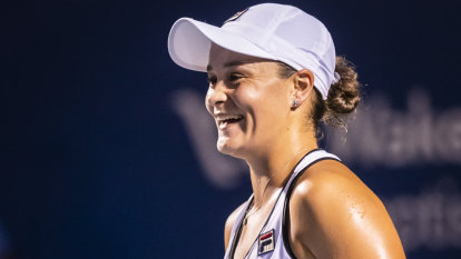 Barty 'super relaxed' ahead of US Open