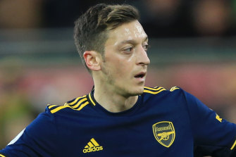 Mesut Ozil has spoken out against the treatment of Uighurs in China.
