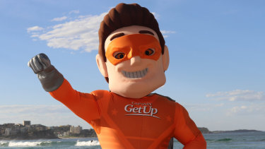 That didn't go well: Captain GetUp.