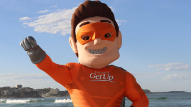 Fighting them on the Manly beaches .... Captain Getup.