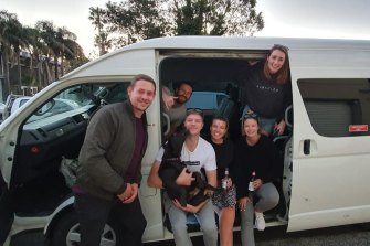 Rose Freeburn and her friends were inspired by a road trip they made up to Byron Bay last year.
