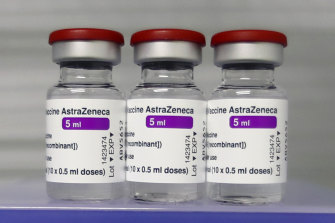 A Melbourne man has developed a blood clot after taking the AstraZeneca vaccine.