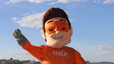 Captain GetUp is the conservative answer to the GetUp campaign.