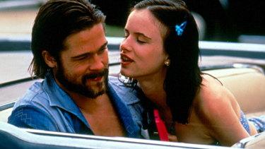 Brad Pitt and Juliette Lewis in Kalifornia.