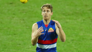 Hunter returned for the Bulldogs last week against Carlton.