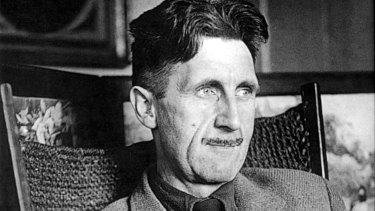 A true moralist... George Orwell in an undated portrait.