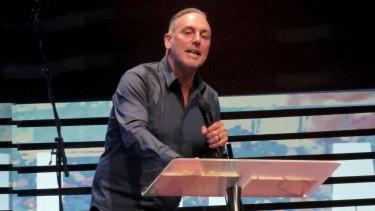 Hillsong pastor Brian Houston.