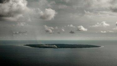 The tiny Pacific Island of Nauru.