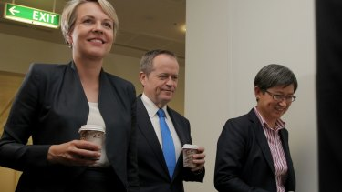 Labor has a number of prominent senior women, including Deputy Opposition Leader Tanya Plibersek, and Senator Penny Wong.