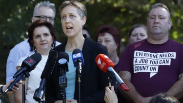 ACTU Secretary Sally McManus says workers want job security, not flexibility.