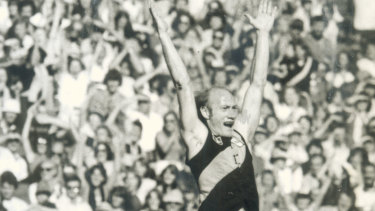 Richmond's Kevin Bartlett in 1981.