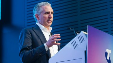 Telstra chief executive Andy Penn has pinned his hopes on a 5G future.