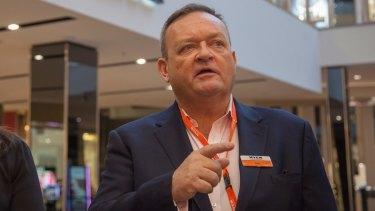 """""""Shareholders deserve better"""": Myer CEO John King."""