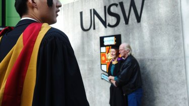The University of NSW has come under fire for its handling of an article about Hong Kong.