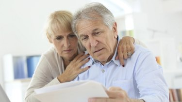 Retired couples with super funds invested for a long period in the market can grow substantial balances.