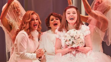 Muriel's Wedding The Musical was an  immediate success and made a star of the original Muriel, Maggie McKenna.