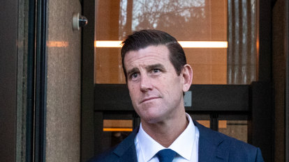 Ben Roberts-Smith's ex-wife accused of lying over email access