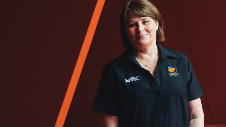 Premier class: Julie Fitzgerald readies to enter her 20th top-flight finals campaign.