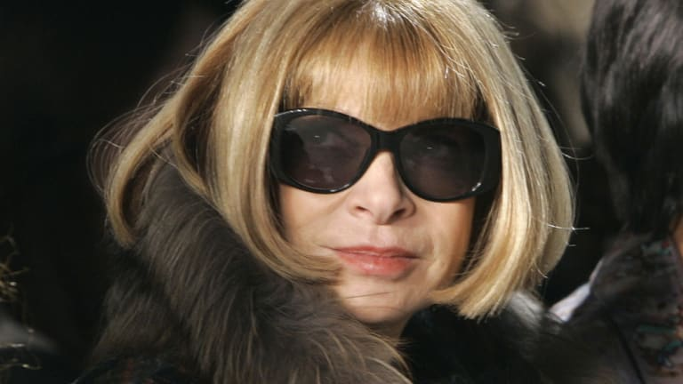 Vogue editor Anna Wintour.