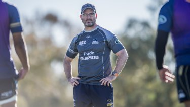 Dan McKellar is set to stay in charge of the Brumbies until at least 2021.
