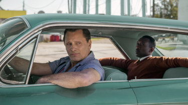 Green Book, starring Viggo Mortensen and Mahershala Ali, is the favourite for best film going into Oscar night.