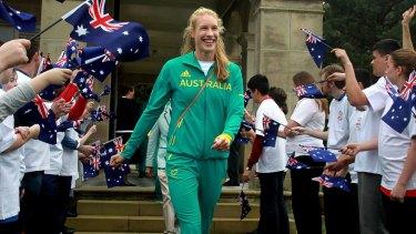 Kim Brennan won three Olympic medals in rowing.