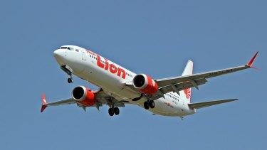 Lion Air Boeing 737 MAX