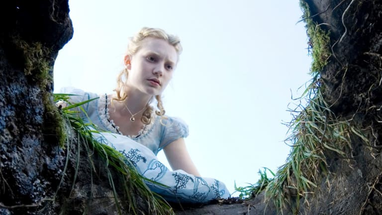 The film that made her a global star: Tim Burton's <i>Alice  in Wonderland</i>.