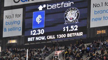 Australia's only online betting exchange, Betfair, is owned by ASX-listed Crown Resorts.