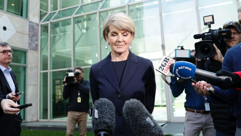 WA Liberal MP Julie Bishop will contest the next election.