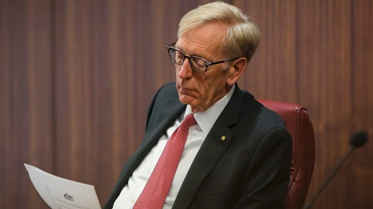 Commissioner Kenneth Hayne said broker fees had contributed to risky borrowing.