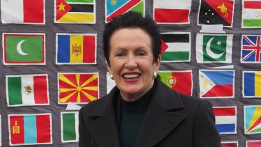 Sydney Mayor Clover Moore has attended a range of international conferences, including the 2015 Paris climate summit.