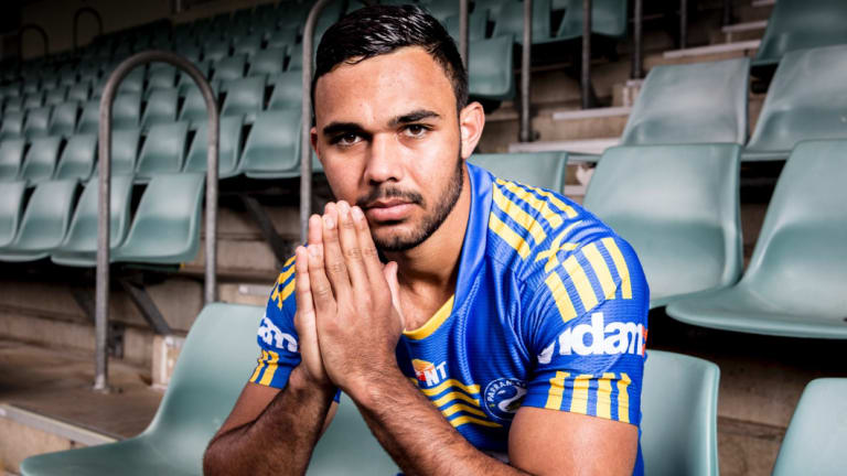 Future uncertain: Bevan French is frustrated he isn't Parramatta's fullback.