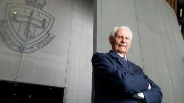 Professor Sir Rupert Myers at UNSW Canberra.